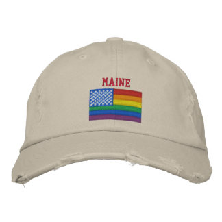 Maine Celebrates Equality Baseball Cap