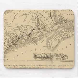 Maine Central Railroad Mouse Pad