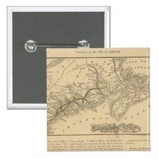Maine Central Railroad Pinback Button