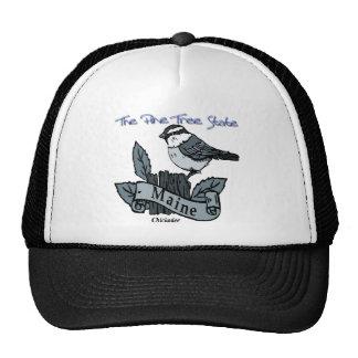 Maine Chickadee The Pine Tree State Hat