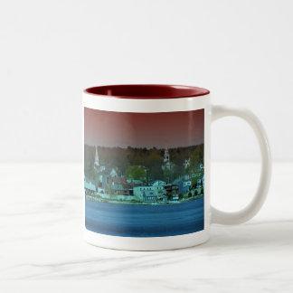 Maine_Coast_11 Two-Tone Coffee Mug