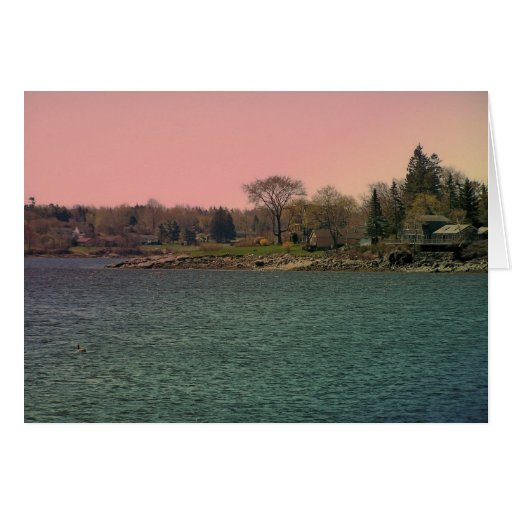 Maine_Coast_20 Greeting Card