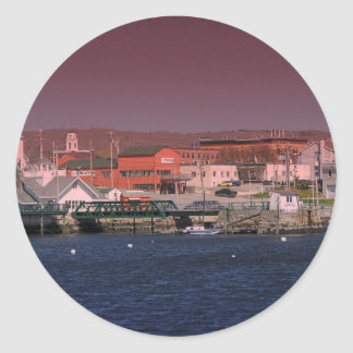 Maine_Coast_22 Classic Round Sticker