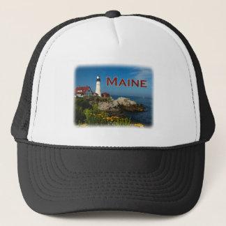 Maine Coast - Portland Head Lighthouse Trucker Hat