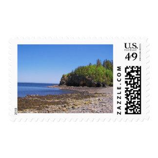 Maine Coast Postage Stamp