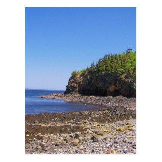 Maine Coast Postcard