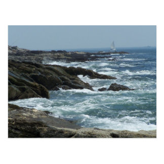 Maine Coast Postcard