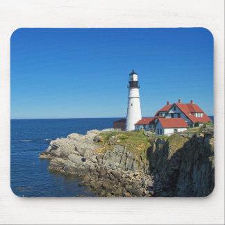Maine Coastal Lighthouse Mouse Pad