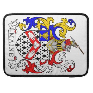 Maine Coat of Arms MacBook Pro Sleeves