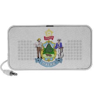 Maine Coat of Arms Mini Speaker