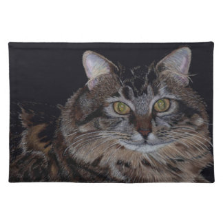 Maine Coon Cat American MoJo Placemat