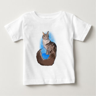 MAINE Coon Cat Baby T-Shirt