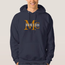 Maine Coon Cat Breed Monogram Hoodie