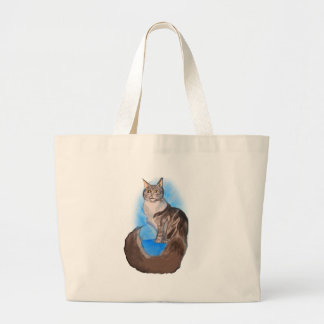 MAINE Coon Cat Canvas Bags