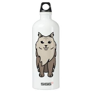 Maine Coon Cat Cartoon SIGG Traveler 1.0L Water Bottle