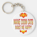 Maine Coon Cat Key Chain