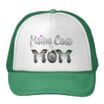Maine Coon Cat Mom Gifts Trucker Hat