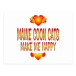 Maine Coon Cat Post Card
