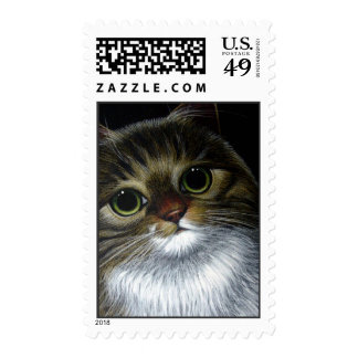 MAINE COON CAT POSTAGE