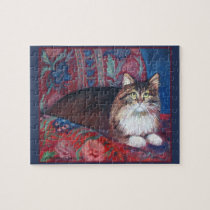 Maine Coon Cat Puzzle