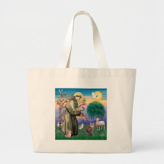 Maine Coon Cat  - St Francis Large Tote Bag