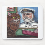 MAINE COON CAT Titanic Mouse Pad