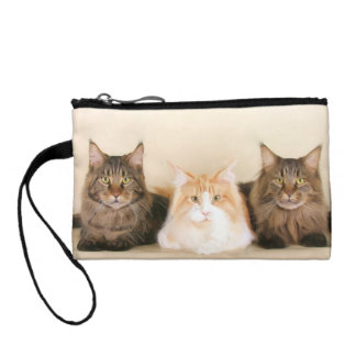 Maine Coon cats Coin Purse