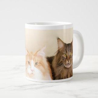 Maine Coon Cats Giant Coffee Mug