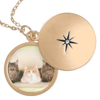 Maine Coon Cats necklace