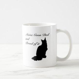 Maine Coon Dad Classic White Coffee Mug