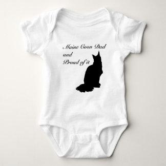 Maine Coon Dad Tee Shirt