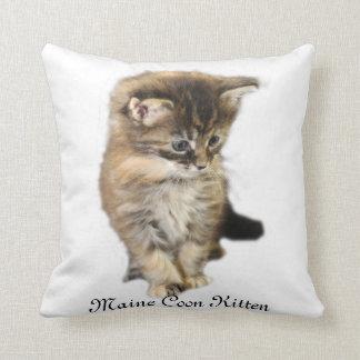 Maine Coon Kitten Pillow