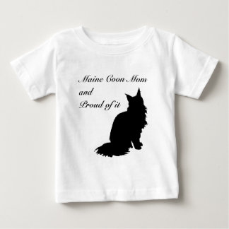 Maine Coon Mom Baby T-Shirt
