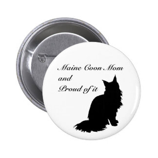 Maine Coon Mom Button