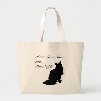 Maine Coon Mom Large Tote Bag