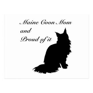 Maine Coon Mom Postcard