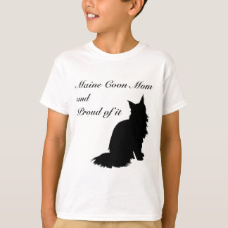 Maine Coon Mom T-Shirt