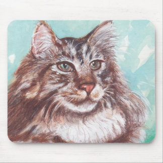 Maine Coon-Mousepad Mouse Pad