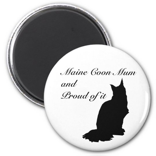Maine Coon Mum Magnet