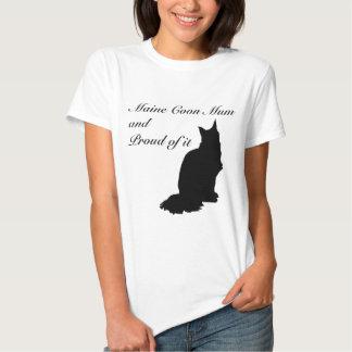 Maine Coon Mum T Shirt