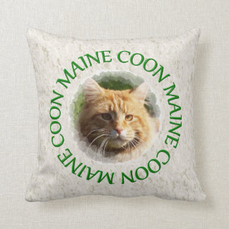 maine coon pillow