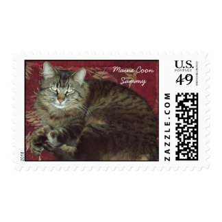 Maine Coon Sammy the Cat Postage