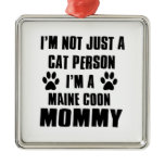 Maine Coon shirts Cat Design Christmas Ornaments