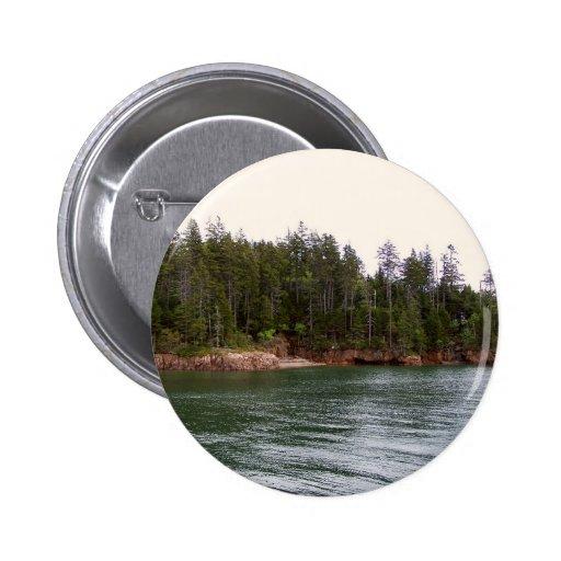 Maine costero pin redondo 5 cm