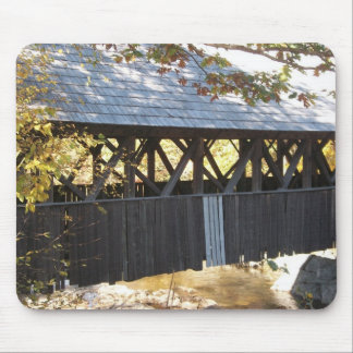maine covered bridge mouse pads
