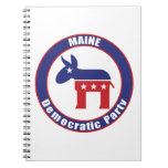 Maine Democratic Party Note Books