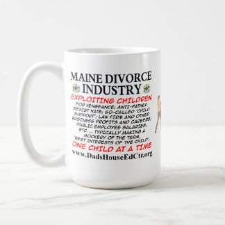 Maine Divorce Industry. Mug