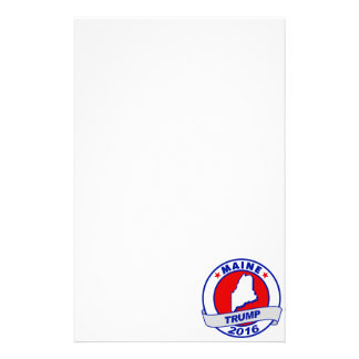 maine Donald Trump 2016.png Stationery