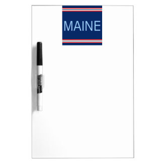 Maine Dry Erase Board with Pen