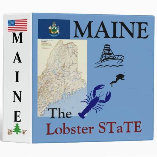 """MAINE: El país de los alces del estado de la Carpeta 2"""""""